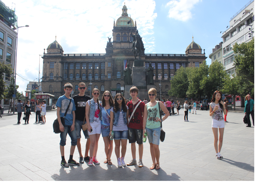 Association - летний лагерь в Праге