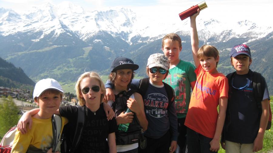 Les Elfes лагерь Вербье Швейцария: 19/08