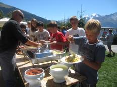 Les Elfes лагерь Вербье Швейцария: лето - Фото 8